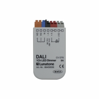 Lunatone DALI mini LED dimmer 1 channel / push
