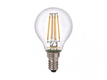 Retro Lampen Led : Sylvania led lamp e14 4w warm white retro ball greuter leuchten gmbh