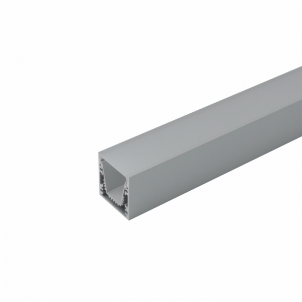 Aluminum Profile 30x32mm click anodized for LED stripe