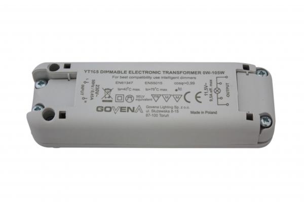 govena transformator 0 105va dimmbar greuter leuchten