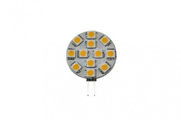 G4 LED Stiftsockel seitlich 2.4W Epistar warm-weiss | Greuter Leuchten