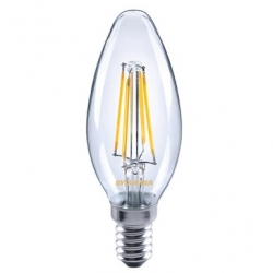 Sylvania LED lamp E14 2.5W warm white retro Candle